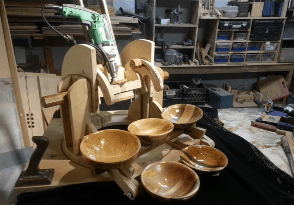 Making a wooden Bowl Without a Lathe