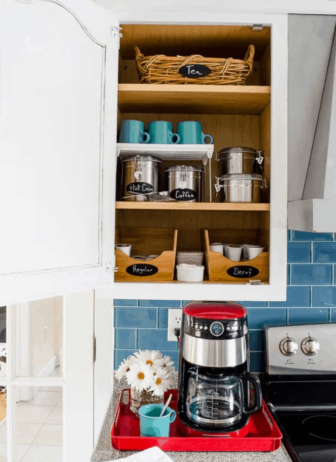 Our DIY Coffee Station