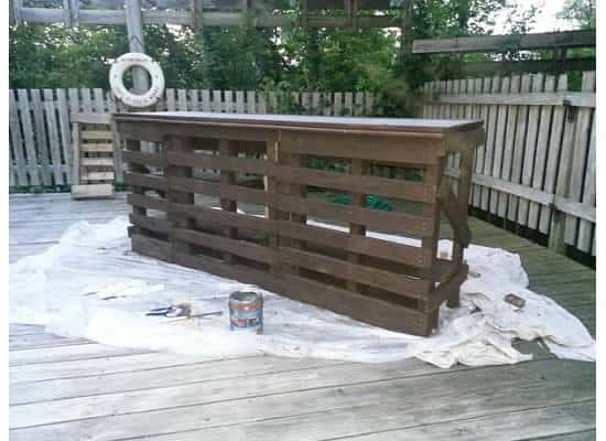 Pallet Bar from Instructables