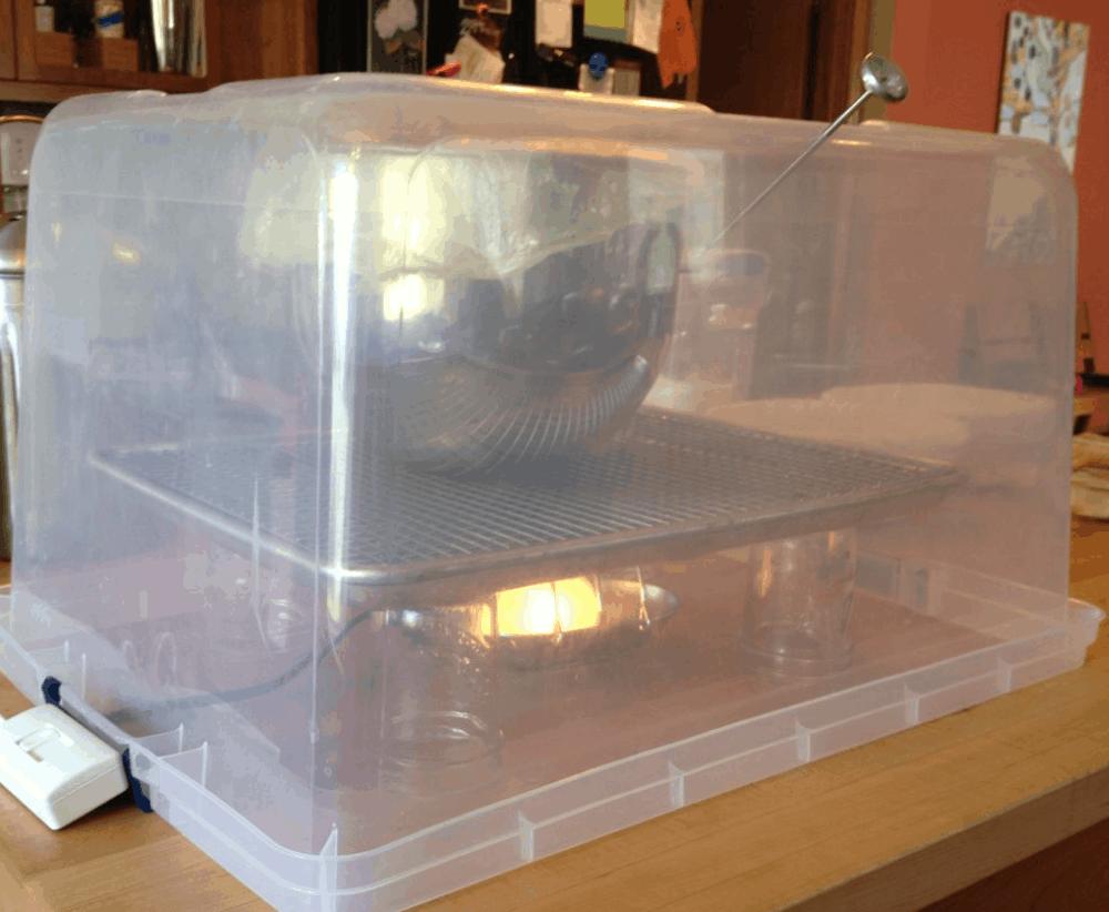 Proofing Box – Homemade DIY Options