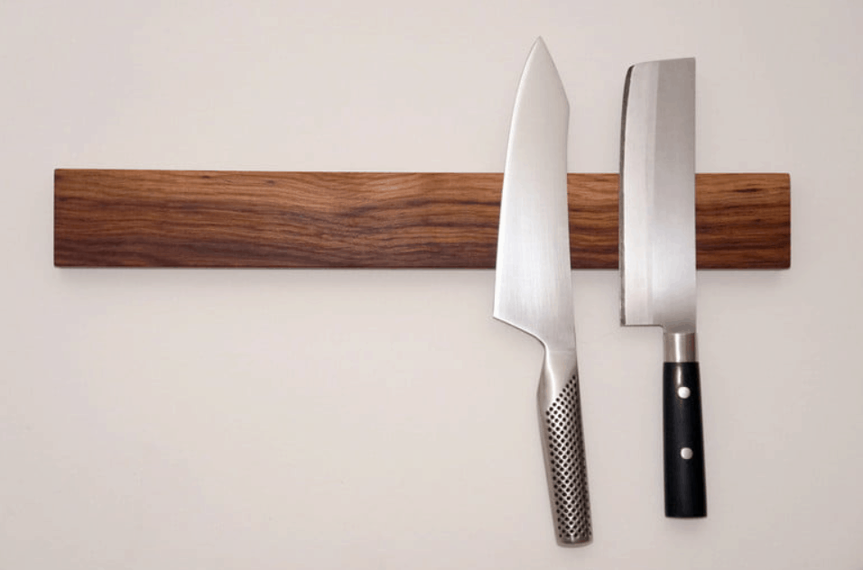 Weekend Workshop How to Build a Magnetic Knife Rack