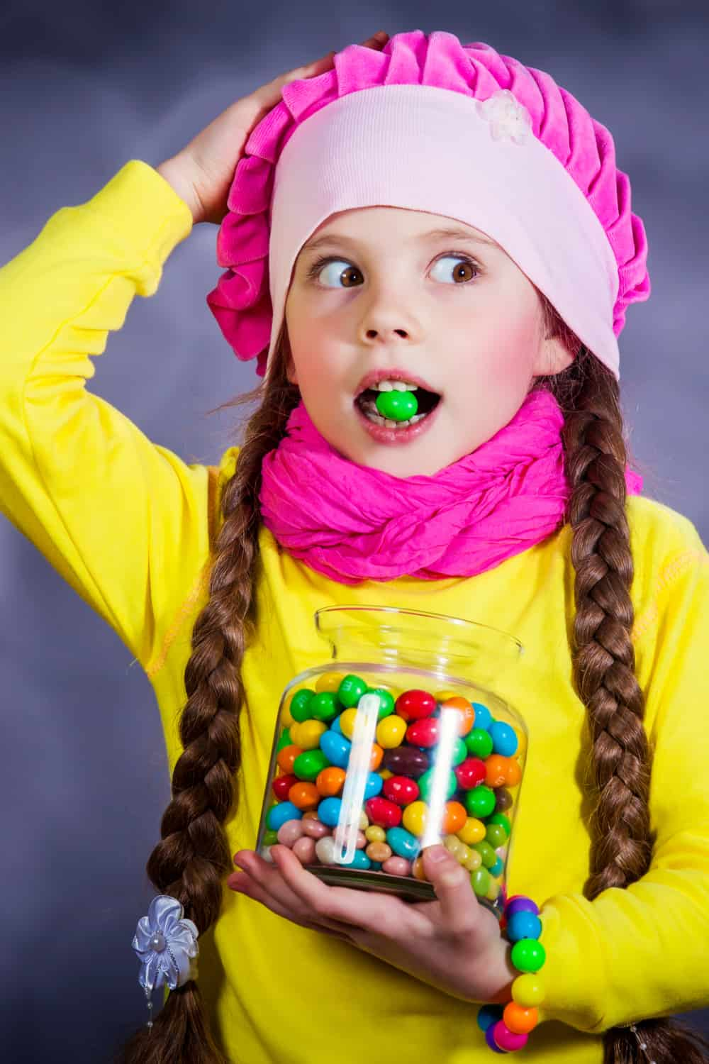What is the Risk of Consuming an expired Jelly Bean