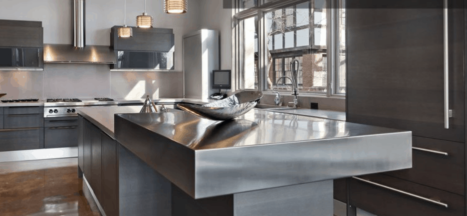 YOUR DIY STAINLESS STEEL COUNTERTOP FABRICATION GUIDE