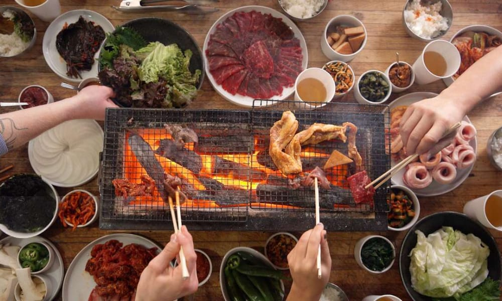 Family Meal Korean Barbecue