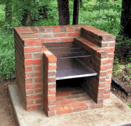 How to Build a Brick Barbecue Plan