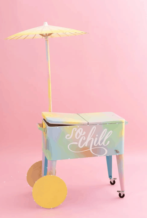 Make Every Day National Ice Cream Day with this DIY Ice Cream Cart