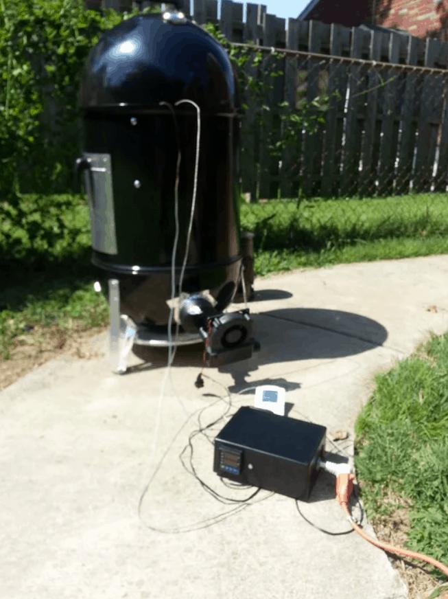 Smoker Temperature Controller