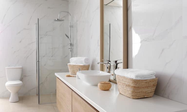 16 DIY Bathroom Countertop Ideas