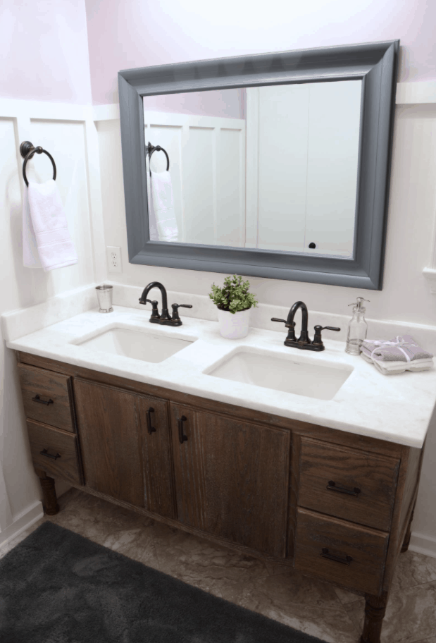 How to Build a DIY Bathroom Vanity From Scratch