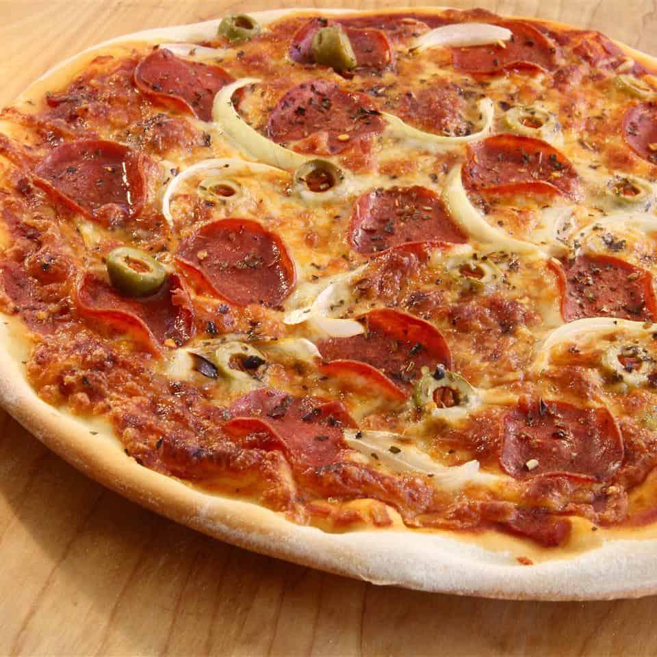 Allrecipes Thin Crust Pizza