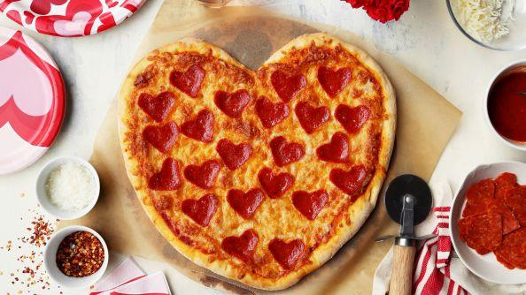 Heart Pizza Thin Crust Recipe