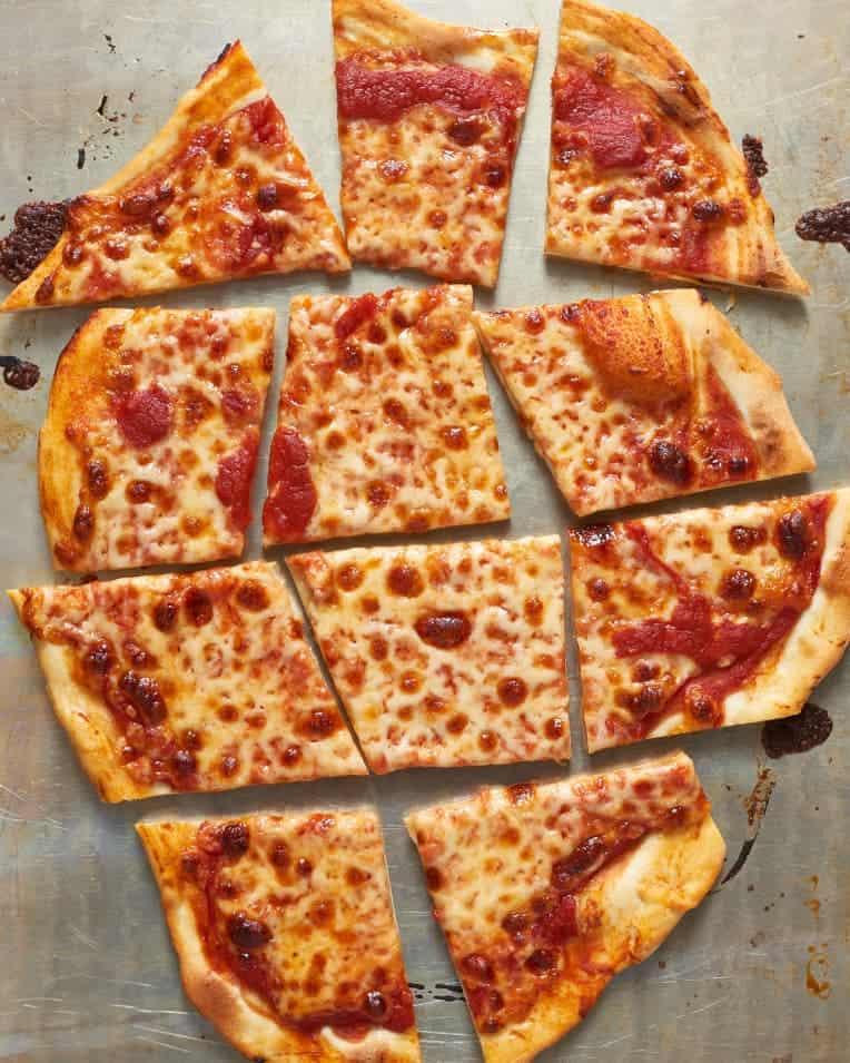 Kitchn Homemade Thin Crust Pizza