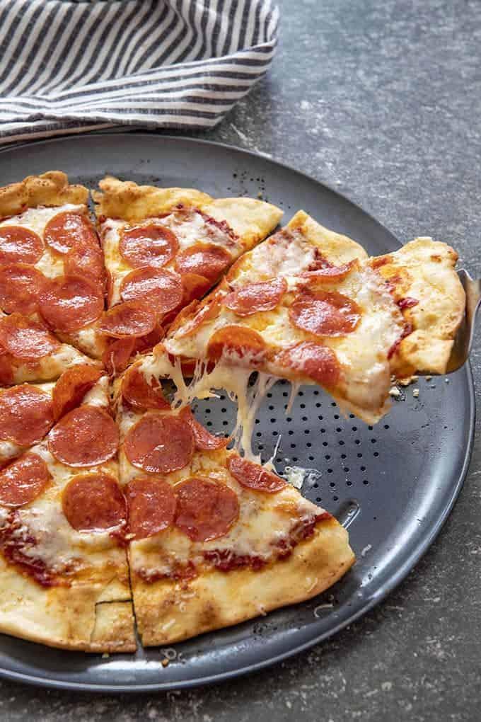 Salty Marshmallow Thin Crust Pizza